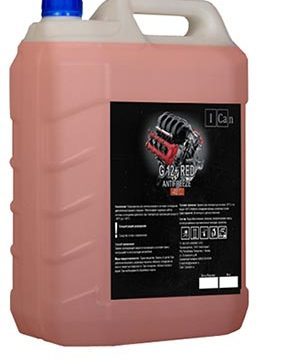G12+ RED Antifreeze -40°C